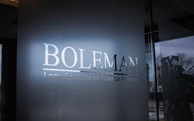 Boleman Glass Logo