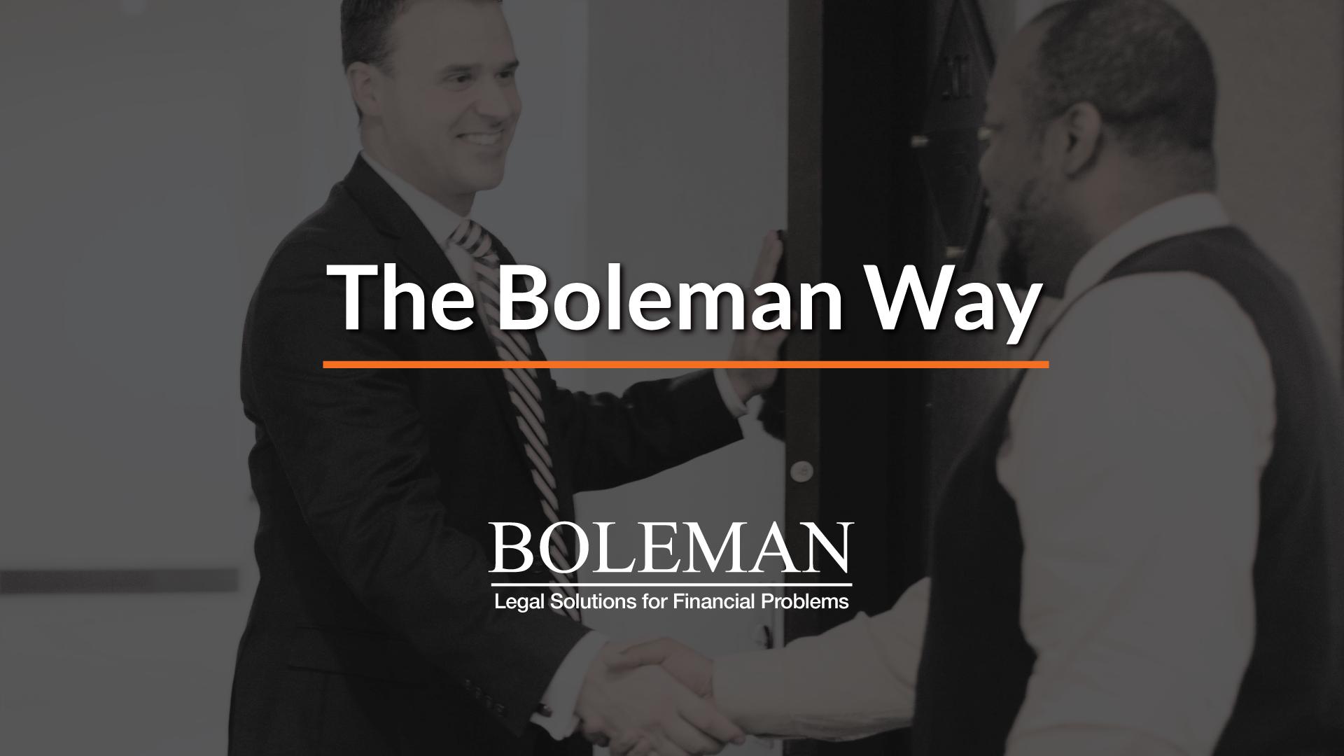 The Boleman Way